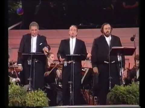 Three Tenors at Giants Stadium (German TV Documentary)