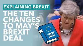 May's New Brexit Deal Explained - Brexit Explained
