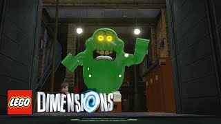 LEGO Dimensions - Slimer Free Roam With Commentary