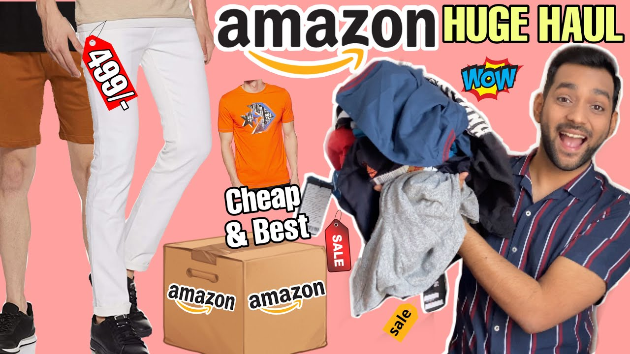 Cheap and Best Clothing Brands For Indian Men *ONLINE* | HUGE AMAZON FASHION HAUL | ANKIT TV