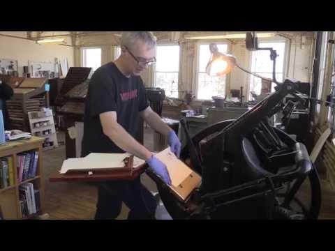 Big Wheel Letterpress
