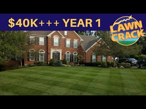 How to Make $40,000.00+ Mowing | Solo Operator | 1st Year in