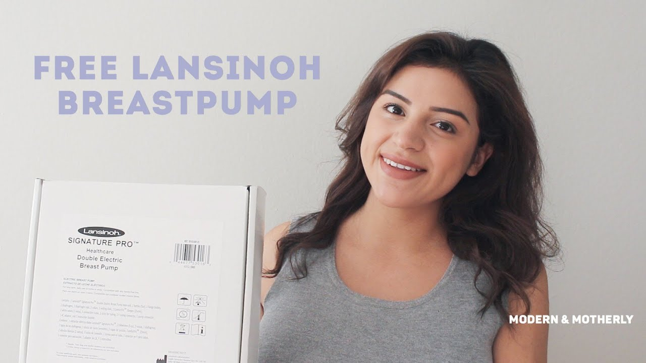 Lansinoh How To Get A Free Breast Pump Youtube