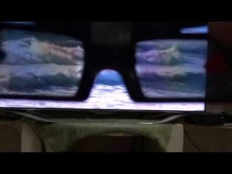 Samsung ES8000 Active 3D TV Glasses Connection