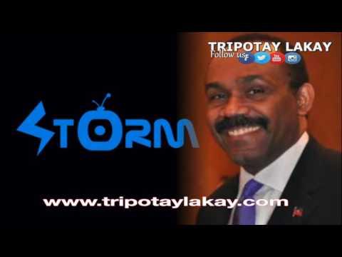Stanley Lucas Ap reponn Kesyon Politik sou radio Storm FM - Mardi 24 Mai 2016