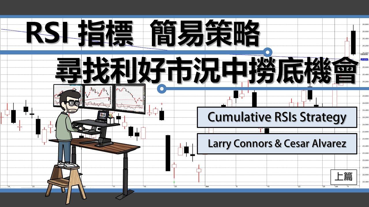 [交易策略]RSI指標簡易策略 尋找利好市況中撈底機會