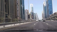 Cab Ride on Sheikh Zayed Road (E 11) - Dubai, UAE