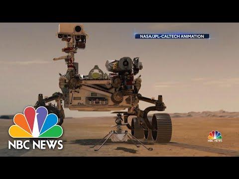 NASA Makes History With Flight On Mars!!