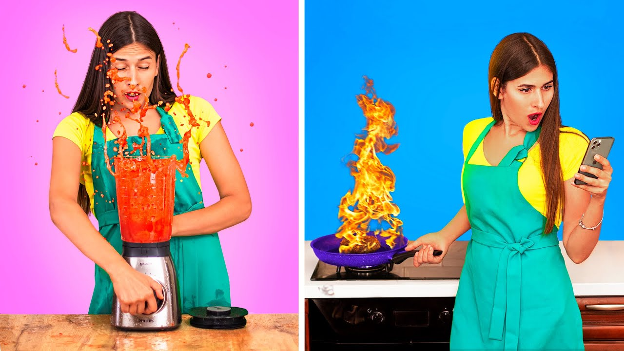 Классные кулинарные советы / Типы людей на кухне