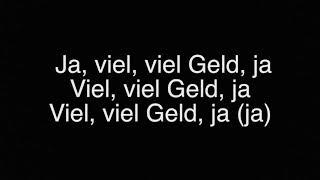 Veysel amp; Mozzik  Ti amo I lyrics