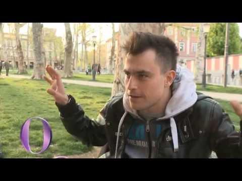 Boris Cavazza kot brezdomec