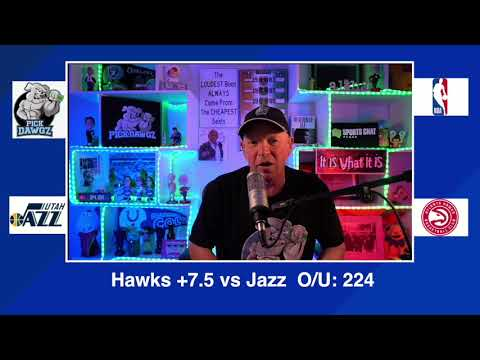 Atlanta Hawks vs Utah Jazz 2/4/21 Free NBA Pick and Prediction NBA Betting Tips