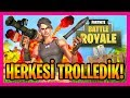 ÖNÜMÜZE GELENE PİSLİK YAPTIK KOMİK ANLAR (Fortnite Battle Royale Gameplay Türkçe)