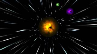 Awesome hyperspace burning planet by vbkingofvideo