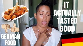 GERMAN FOODS I NEVER THOUGHT I WOULD LIKE