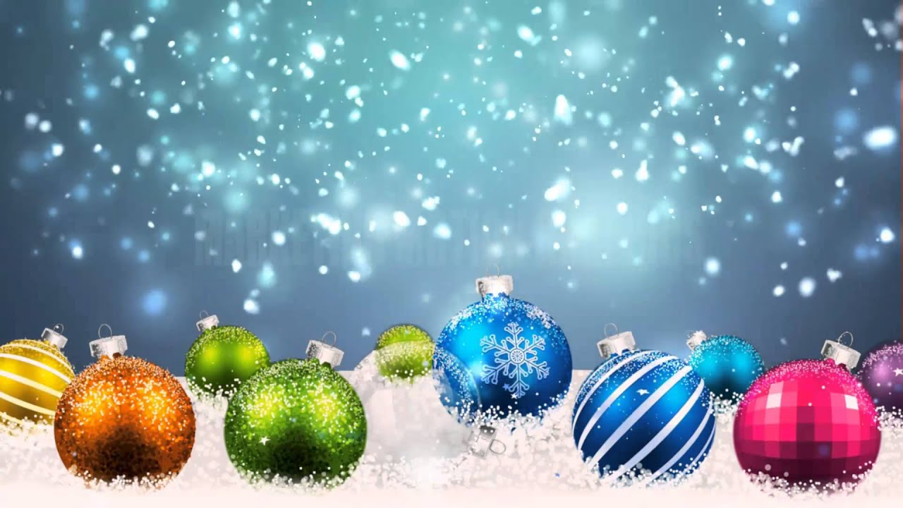 Winter Christmas Motion Backgrounds Youtube