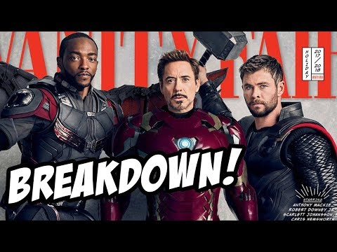 Avengers : Infinity War Teaser Photos - Breakdown!