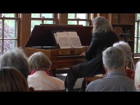 Federal-Era Square Forte-piano Inauguration.