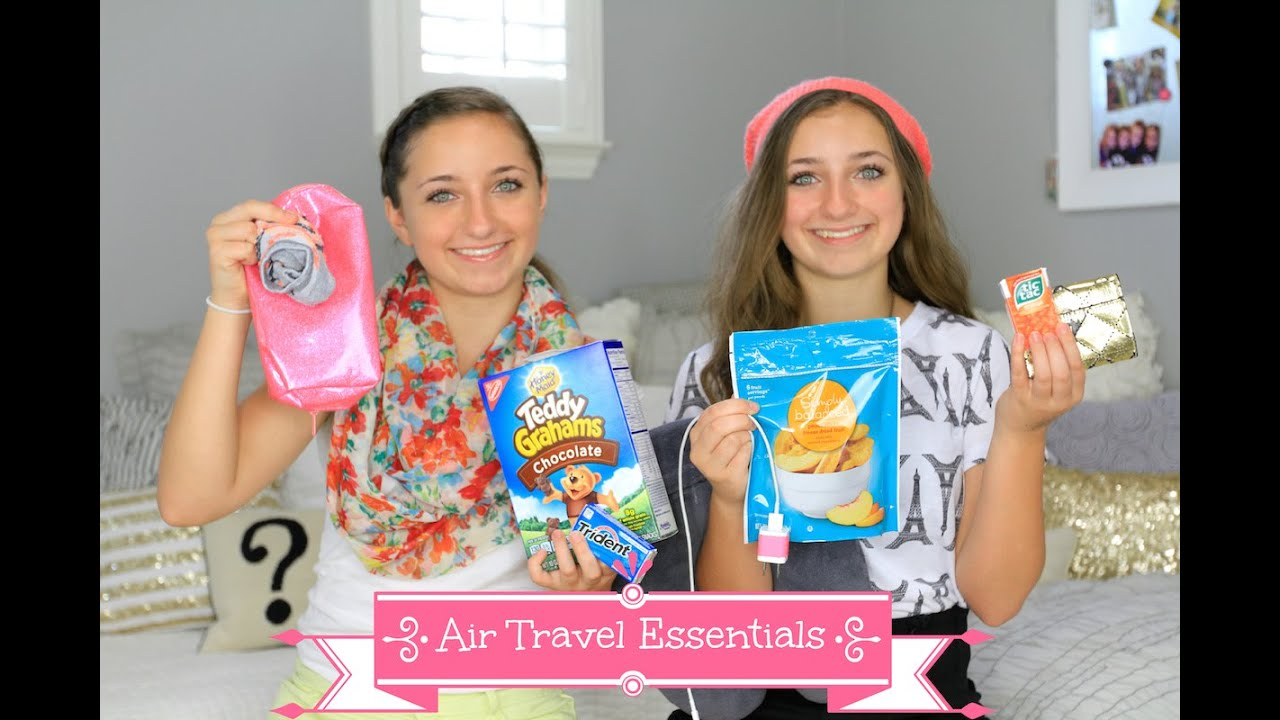 Airplane Essentials Tips For Traveling Youtube