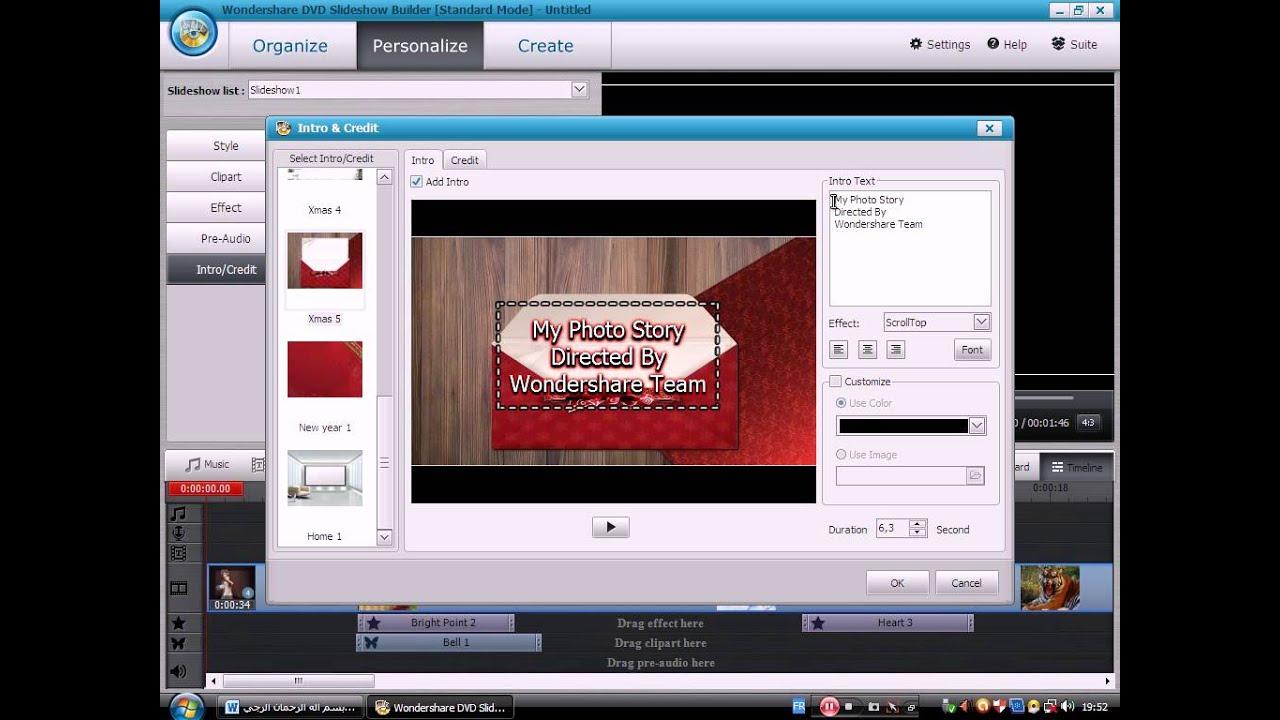 wondershare dvd slideshow builder deluxe version 6.1.0.41 download