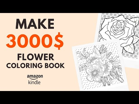 How To Make With Your Art Amazon Kdp Coloring Books Youtube