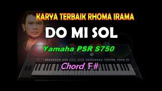 Do mi sol - Rhoma Irama Feat Rita Sugiarto | KARAOKE | By Saka