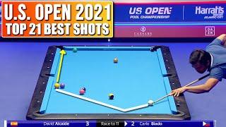 TOP 21 BEST SHΟTS   U.S. Open 2021 (9-ball pool)