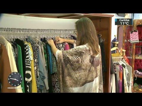 Estilista aproveita retalhos para criar vestidos de festa exclusivos | SBT Notícias(07/11/17)
