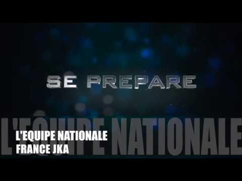 Equipe Nationale Junior Senior JKA Europe Championship Avril 2018