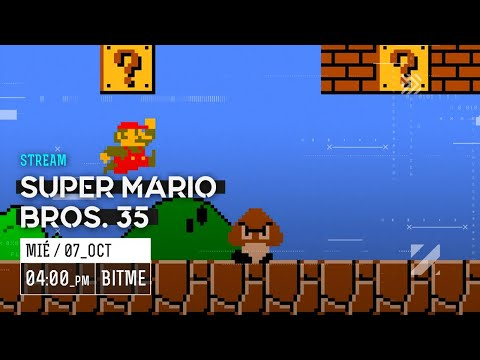 Super Mario Bros. 35, el Battle Royale de Nintendo con Enrique y Ayax