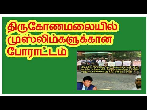 Trincomalee strike, திருகோணமலையில் அபயகு எதிரான ஆர்பாட்டம்