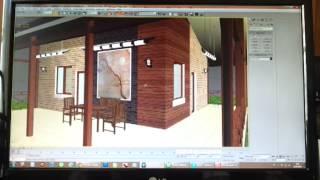 Проект частного дома 02(После завершение очередного проекта, решил выложить в сеть обзор жилого дома! Смотрите!, 2012-09-14T03:38:25.000Z)