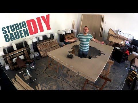 Wir bauen unser eigenes Studio