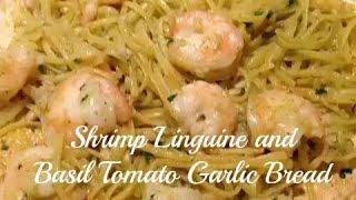 Pasta Sunday Shrimp Linguine