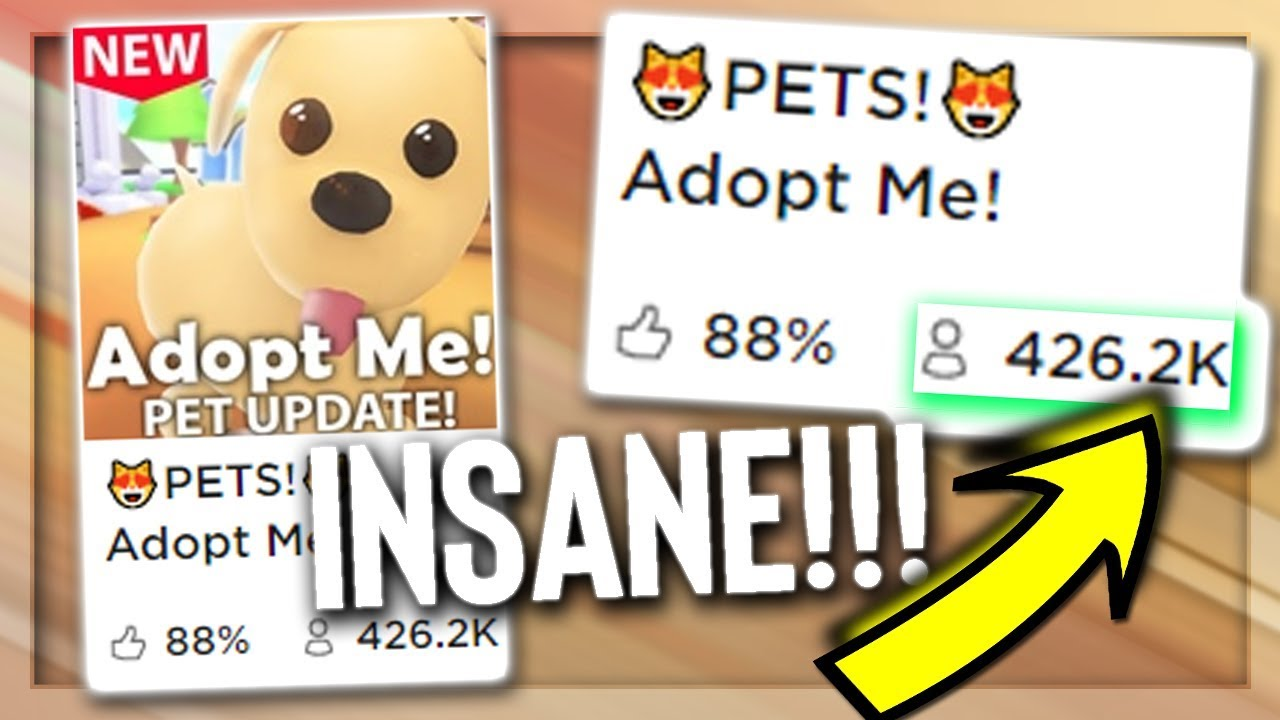 Roblox Adopt Me Broke World Records 400 000 Players Youtube