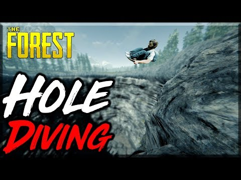 The Forest | SLEDDING IN THE HOLE | VR MADNESS 5