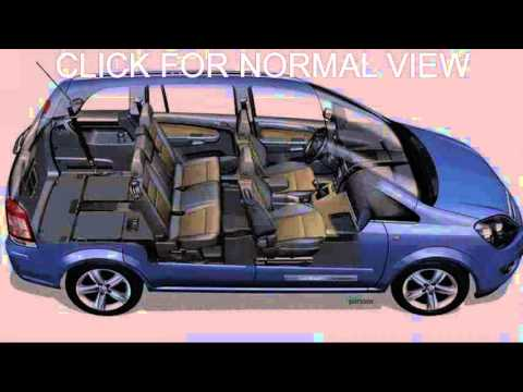 opel zafira interior youtube. Black Bedroom Furniture Sets. Home Design Ideas