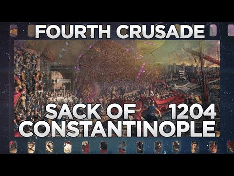 Sack of Constantinople 1204 - Fourth Crusade DOCUMENTARY