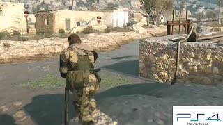 PS4 METAL GEAR SOLID 5 V The Phantom Pain Gameplay PlayStation 4 Second Part