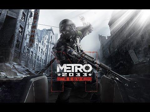 Metro 2033 Redux Game Movie (Cutscenes and Gameplay) [1080p]