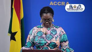 FULL VIDEO:  Ursula Owusu's briefing on Common Platform, talk tax and taxing mobile money