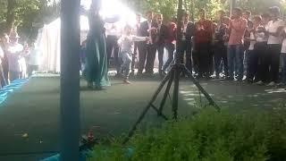 лезгинка на свадьбе Арсановых в Шалажи