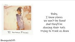 Taylor Swift - I Know Places (Lyrics)