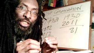 Download 81st Coronation of HAILE SELASSIE I: CHRIST In His Kingly Character & 2011 Rastafari Mathematics MP3 song and Music Video