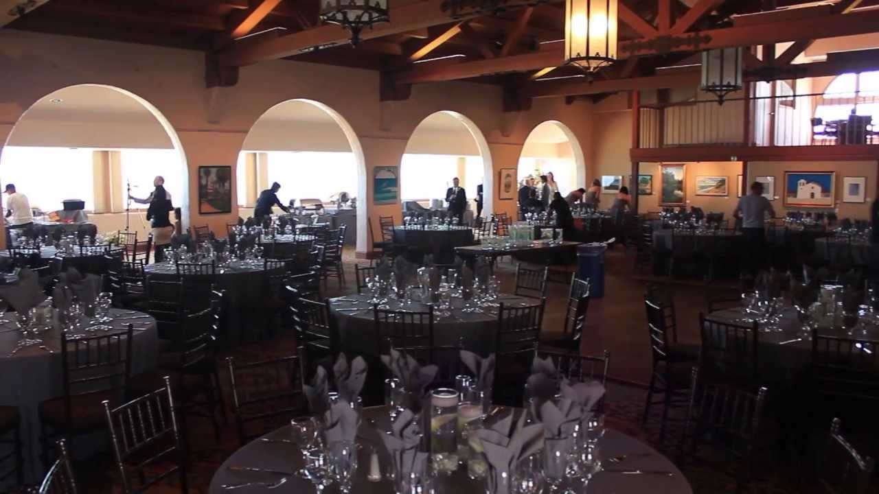 Cabrio Pavillon Cabrillo Pavilion Art Center Wedding