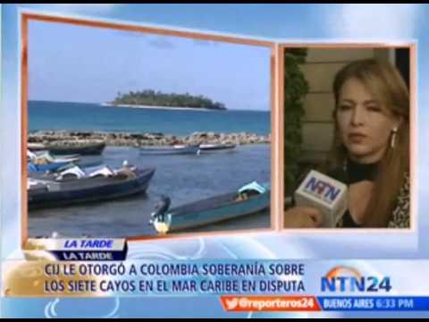Colombia pierde territorio maritimo en Archipielago de San Andres