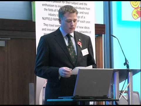 James Peck, Nuffield Farming Conference