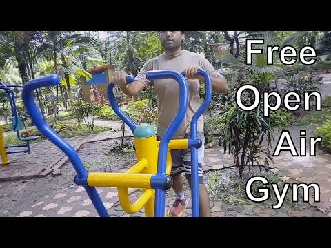Model-2 Sky Walker Open Air Gym Equipment For Exercise Of Shoulders And Pelvic Bone