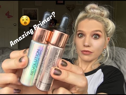 NOT WHAT I EXPECTED! / Liquid Highlighters by Make Up Revolution 🌟
