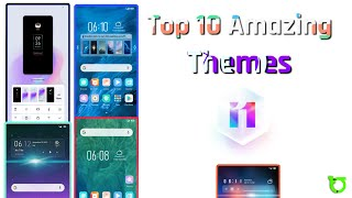 Top 10 Amazing MIUI 11 Themes | Fully MIUI 11 Supported 10 Mi Themes | Amazing 10 themes Collection